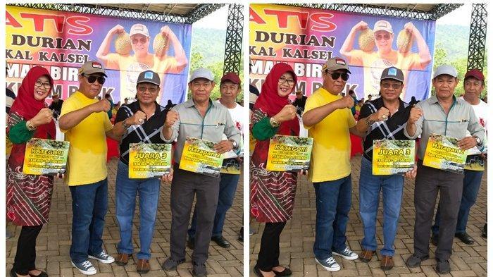 Diturunkan saat Kontes Durian se Kalsel, Durian Terbaik Banjar Borong 10 Nomor Juara