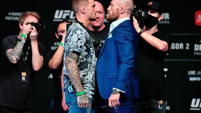 Kalah di Duel Kedua, McGregor Tantang Kembali Dustin Poirier