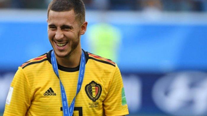 Akankah Eden Hazard akan Pindah ke Real Madrid Sesuai Saran Pelatih Belgia?