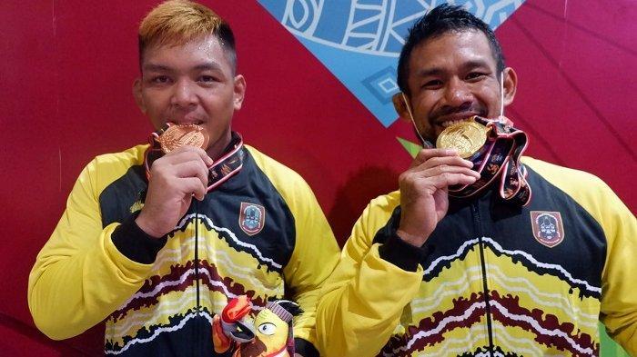 Raih Medali Emas di PON XX Papua, Pegulat Kalsel Fahriansyah Sebut Kado Ultah Anak dan Istrinya