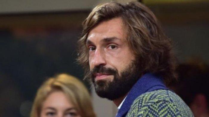 Eks gelandang Juventus dan timnas Italia, Andrea Pirlo.