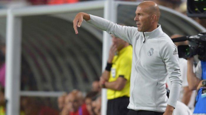 LIVE STREAMING - Borussia Dortmund VS Real Madrid, Keyakinan Zidane