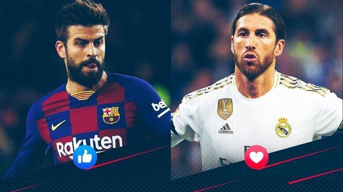 LIVE Streaming TV Online Barcelona vs Real Madrid Liga Spanyol, El Clasico di Link Bein Sports 1