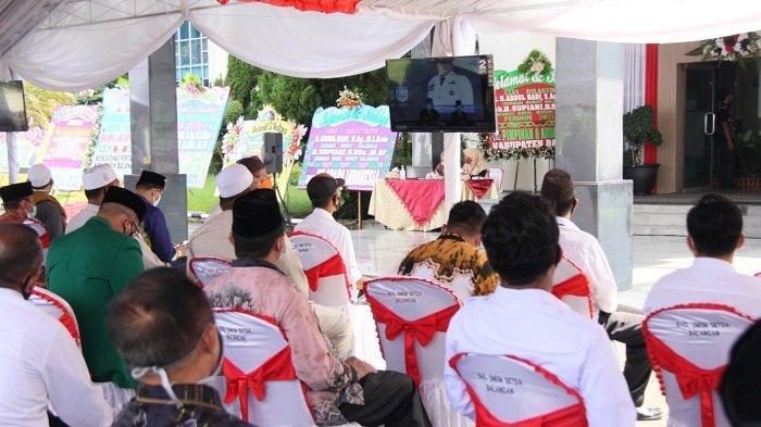 Resmi Dilantik, Abdul Hadi - Supiani Lanjutkan Estafet Pemerintahan Balangan
