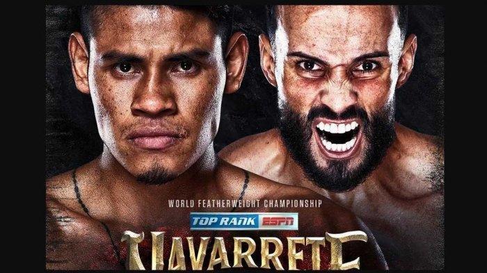 Live ESPN! Jadwal Siaran Langsung Tinju Dunia Emanuel Navarette vs Christopher Diaz, Tak Live TVOne