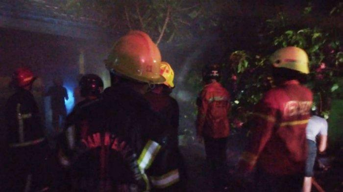Kebakaran di Kalsel, Api Bumihanguskan Empat Kelas dan Perpustakaan SDN 2 Jawa Laut Martapura