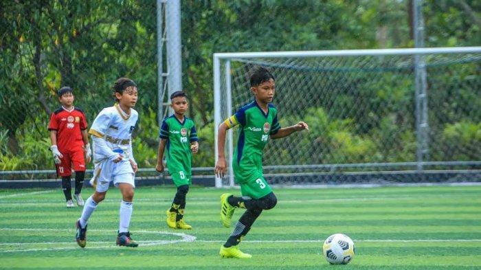 Sapu Bersih Laga, SSB Alam Hijau Banjarmasin Juara Banua Junior Match KU-12