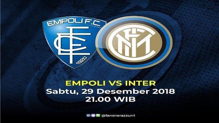 Live Streaming Empoli Vs Inter Milan Liga Italia Pekan 19 Bisa Pakai Cara Ini Live Bein Sport 2 Halaman All Banjarmasin Post