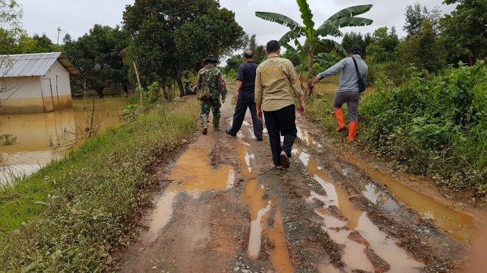 Dewan Dukung Penuntasan Jalan Jepang di Kecamatan Takisung, Begini Kondisinya
