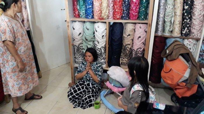 Rampok Beraksi di Toko Tekstil,  Penjaga Toko Ini Ketakutan Minta Tidak Dibunuh