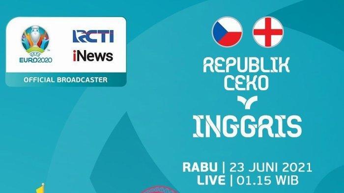 Live RCTI! Link Streaming Euro Ceko vs Inggris Live TV Online Mola TV Mulai Jam 02.00 WIB