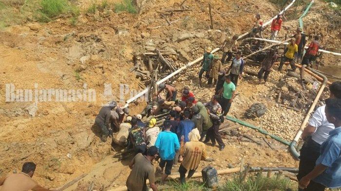 Tiga Korban Diduga Masih Tertimbun Longsor di Pumpung Cempaka, Pencarian Terkendala Lumpur