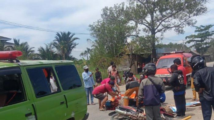 Diduga Korban Tabrak Lari, Pengendara di Jalan Gubernur Syarkawi Batola Tewas dengan Kepala Berdarah