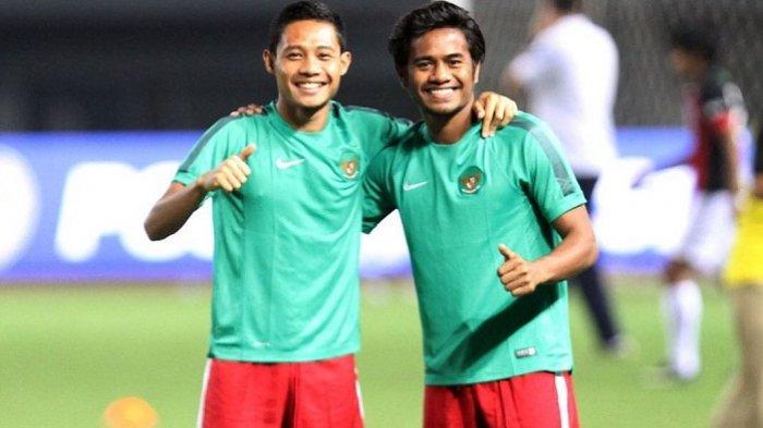 Evan Dimas dan Ilhamudin Armain