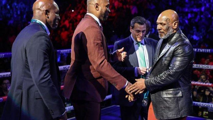 Jadwal Tinju Mike Tyson vs Evander Holyfield Sudah Dibeberkan, si Leher Beton Sesumbar Menang