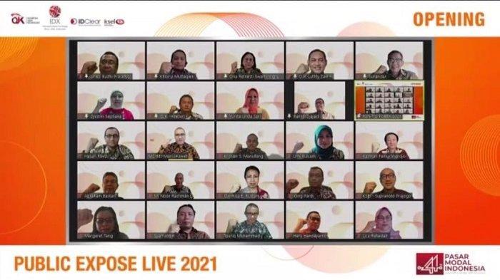 Gelar Public Expose LIVE 2021, BEI Targetkan 44.000 Pengunjung Daring