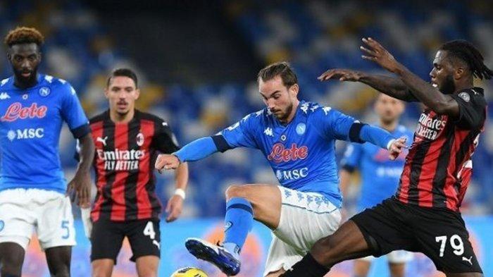 Prediksi & Live Streaming Napoli vs Atalanta di Semifinal Coppa Italia Live TVRI, Insigne Main