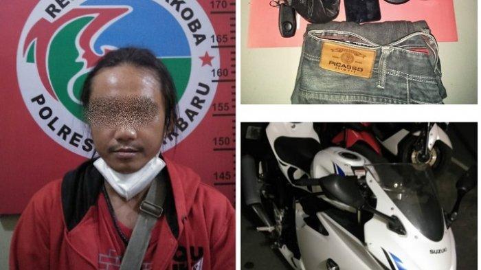 Fah alias Uji (35) yang terakhir ditangkap setelah empat rekannya ditangkap lebih dulu.