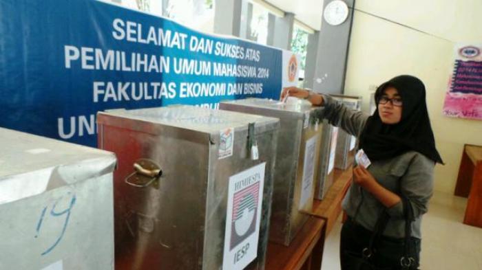 Pemilihan Ketua 5 Organisasi di Fekon dan Bisnis Unlam Digelar