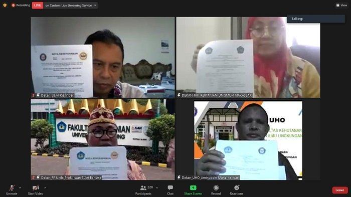 Implementasikan MBKM, ULM Kerjasama Dengan Tiga Perguruan Tinggi di Indonesia