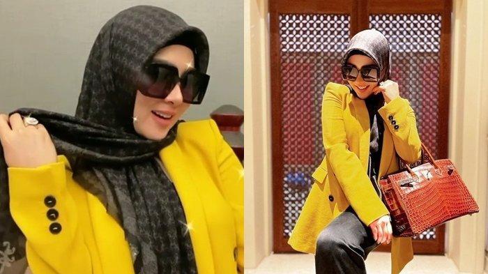 Syahrini Pakai Baju Jutaan Rupiah & Tas Miliaran di Rumah, Istri Reino Barack Dikomentari Aisyahrani