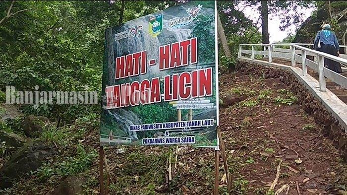 Wisata Kalsel, Ciri Khas Air Terjun Pancoran Lima Sungai Bakar Kabupaten Tala