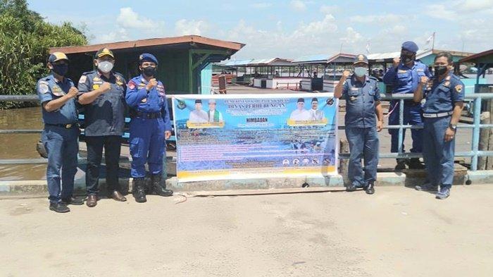 Dishub Kabupaten Kapuas Lakukan Pemeriksaan Feri di Selat dan Mandomai