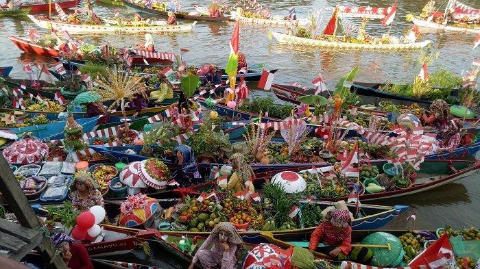 Paman Birin Sebut Festival Budaya Pasar Terapung Jadi Pemanasan Tahun Kunjungan Wisata Kalsel 2020