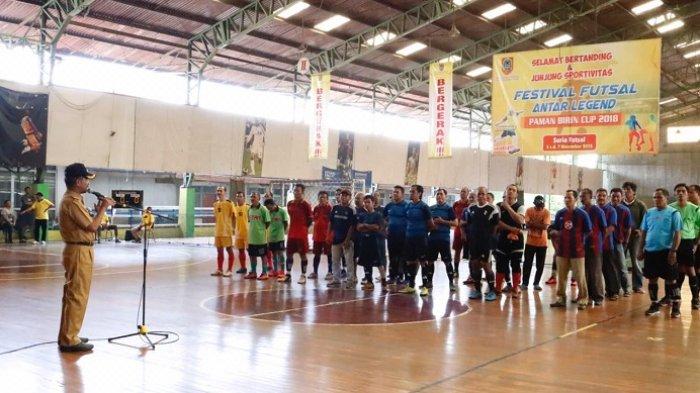 18 Tim Meriahkan Festival Futsal Antar Legend Paman Birin Cup 2018, Pertandingkan Dua Kategori