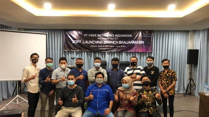 FIBERNET hadir dan diluncurkan di Banjarmasin dalam soft launching di Hotel Rattan Inn Banjarmasin