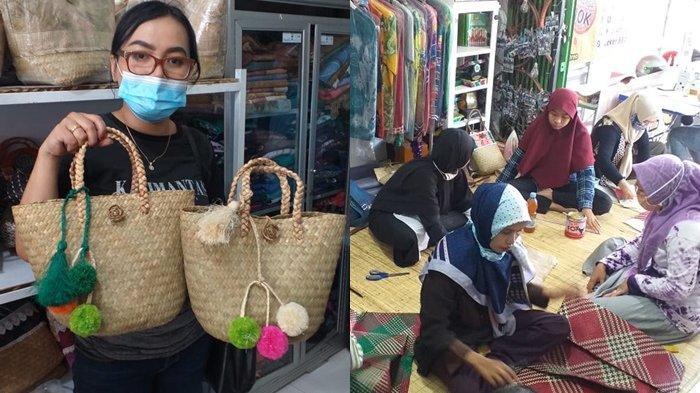 Tertarik Keunikan Tas Purun, EO dari Jakarta Kunjungi Rumah Kreatif  Banjarmasin dan Bikin Kerjasama