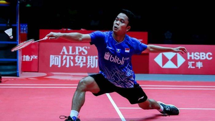 SEKARANG Ginting Main! LINK TVRI Live Streaming Badminton ...