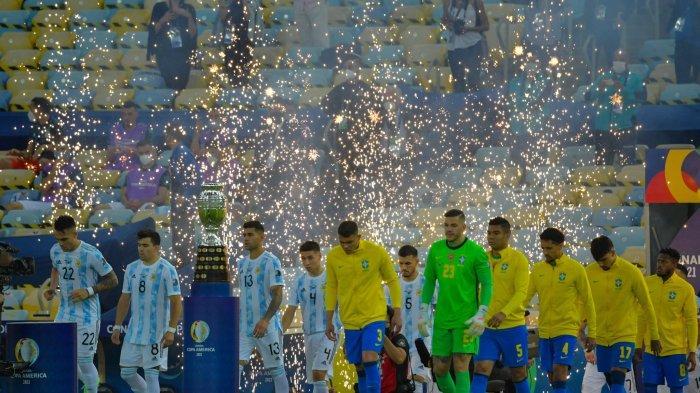 Skor Brazil vs Argentina Masih 0-0! Link Streaming Copa America Live Indosiar Nonton di Sini