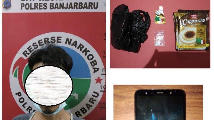 Narkoba Kalsel, Barang Titipan di Rutan Polres Banjarbaru Mencurigakan, Ternyata Isinya Sabu