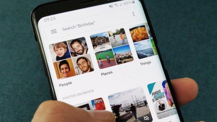 Folder di Google Photos