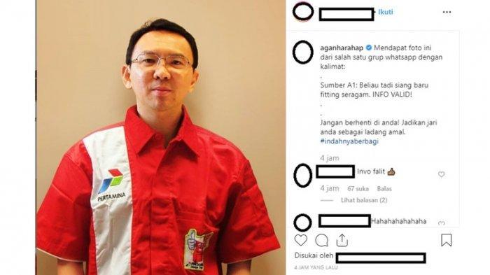 Ahok Resmi Jadi Komut Pertamina! Suami Puput Nastiti Devi Ditunjuk Erich Thohir, Ini Alasannya