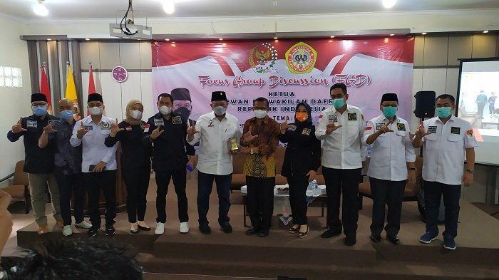 Cari Dukungan Amandemen Ke-5 Calon Presiden Perseorangan, DPD RI ke ULM Banjarmasin