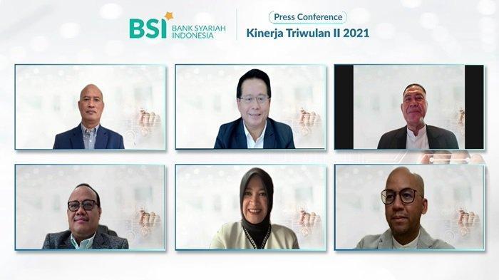 Bank Syariah Indonesia Bukukan Laba Semester I 2021 Rp1,48 Triliun, Mobile Banking 2,5 Juta Pengguna