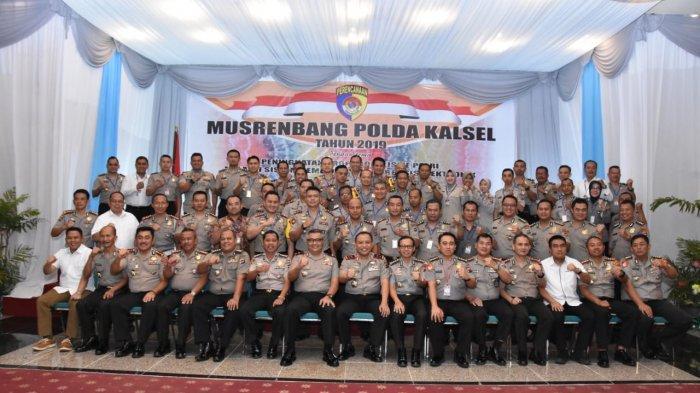 Kapolda Kalsel Irjen Pol Yazid Fanani Bahas Berbagai Kebijakan Polda Kalsel di Musrenbang