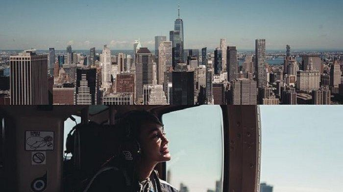 Wajah Luna Maya Yang Diabadikan Gading Marten Picu Reaksi Maia Estianty, Imbas Aksinya di Helikopter
