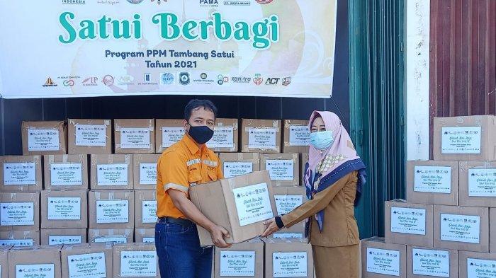 Program Satui Berbagi, Arutmin Salurkan 1.350 Paket Sembako