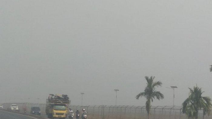 Dua Pesawat Gagal Mendarat karena Kabut Asap, Dua Lainnya Mengitari Langit Banjarmasin 20 menit
