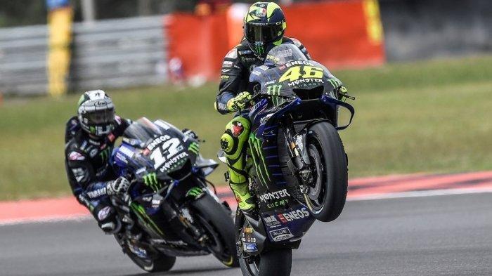 FP1 & FP2 MotoGP Andalusia 2020, Valentino Rossi Kian Percaya Diri dengan Yamaha M1 Miliknya