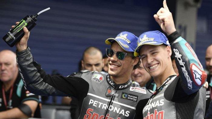 Hasil FP3 MotoGP Ceko 2020 : Morbidelli Tercepat, Rossi Posisi 5, Pengganti Marc Marquez Keteteran