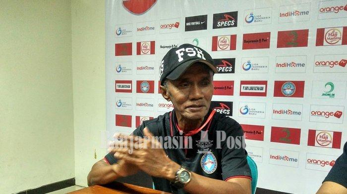 Amirul & Bowo Cidera, Frans Tetap Targetkan Martapura FC Menang di Dua Laga Sisa 8 Besar Liga 2 2019