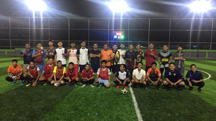 Jalin Silaturahmi, Monster MFC Gelar Fun Football di Rahmad Mini Soccer