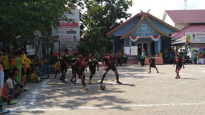 Pertandingan Futsal Tingkat Sekolah Dasar Se Banjarmasin Selatan, Seru