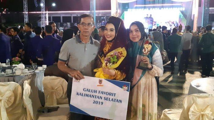 Galuh Kabupaten Tapin Raih Duta Wisata Kalsel 2019 Terfavorit, Ini Harapan Camat CLU