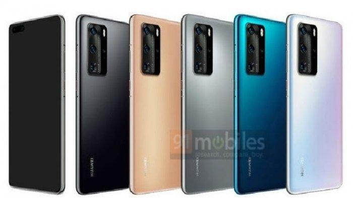 Jelang Peluncuran di Paris Maret 2020, Beredar Wujud Huawei P40 dan P40 Pro di Media Sosial
