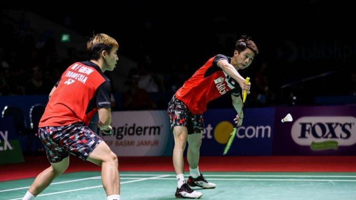 LINK Live Streaming Thailand Open 2019 Selasa (30/7) Youtube Badminton Official, Marcus/Kevin Main